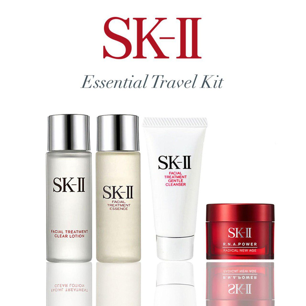 Sk Ii Essential Travel Kit Shopee Singapore Facial Treatment Essence 250ml