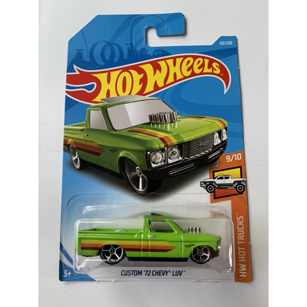 Hot Wheels Hotwheels Custom 72 Chevy Luv Green Pickup Green Hw Hot Trucks Diecast Car Original Shopee Singapore