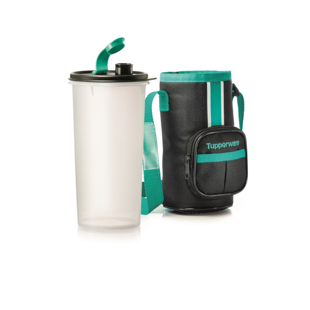 Tupperware High handolier with pouch 1.5L tumbler / water bottle | Shopee Singapore