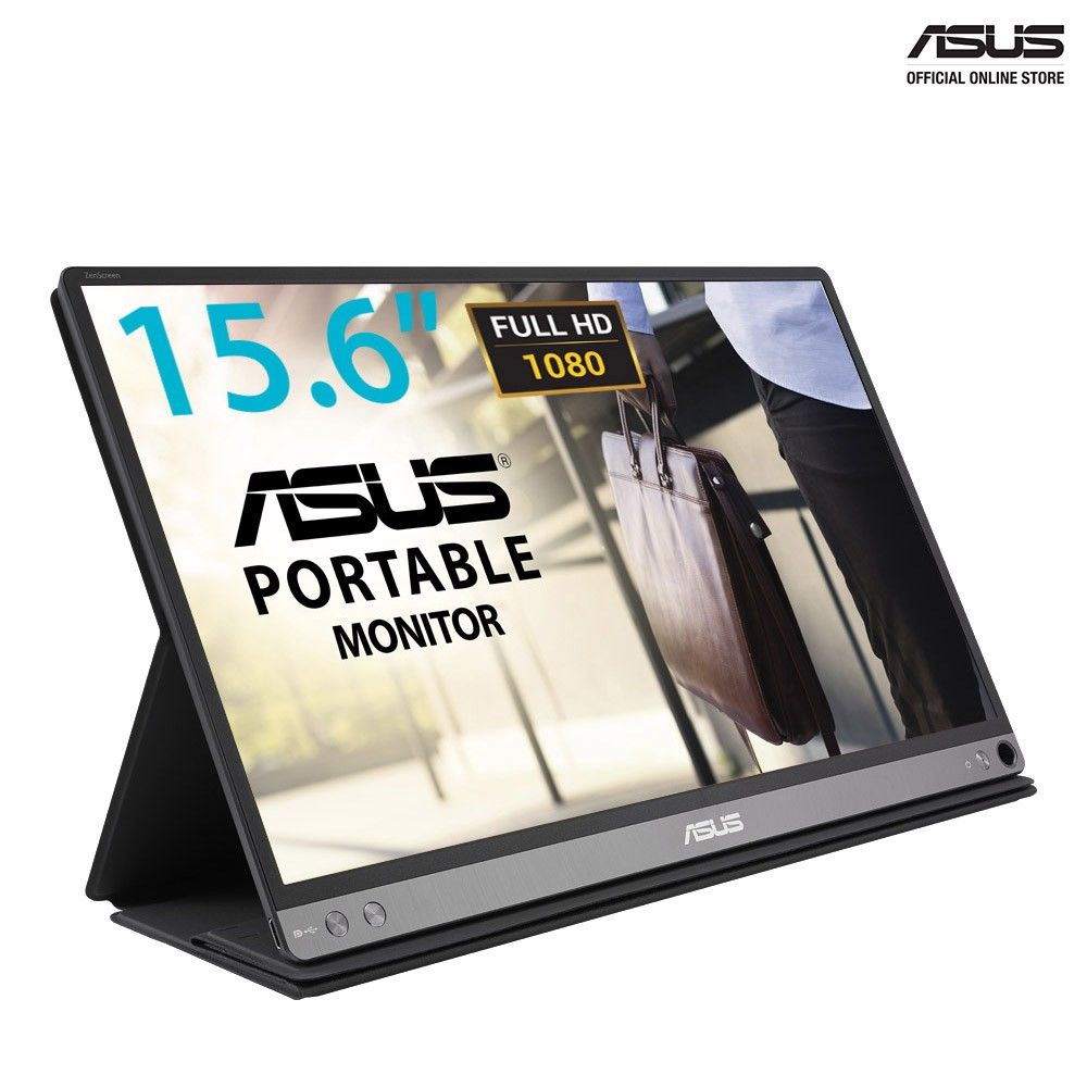 ASUS ZenScreen MB16AC Portable USB Monitor- 15 6 inch Full HD, Hybrid USB  Type-C