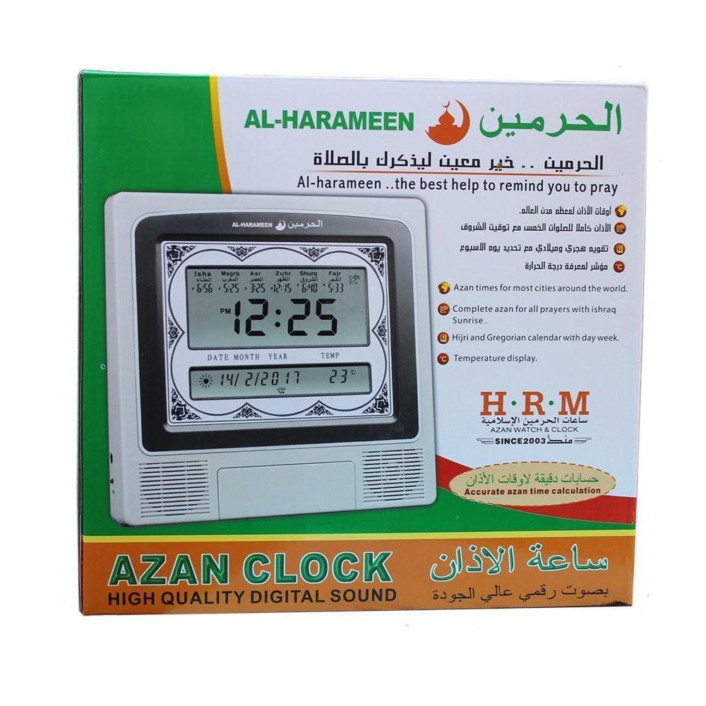 Azan Clock Azan Prayer Table Alarm Clock with Digital Times