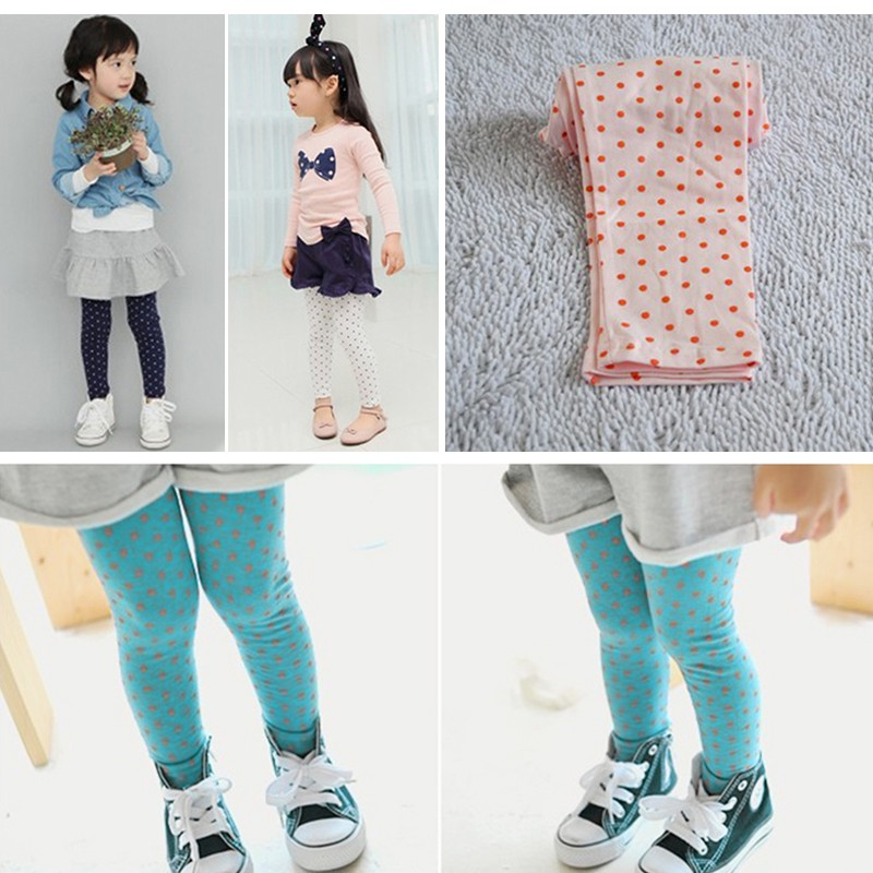 Toddler Kids Baby Girl Tight Pants Stretchy Thermal Warm Leggings Trousers 0-5Y