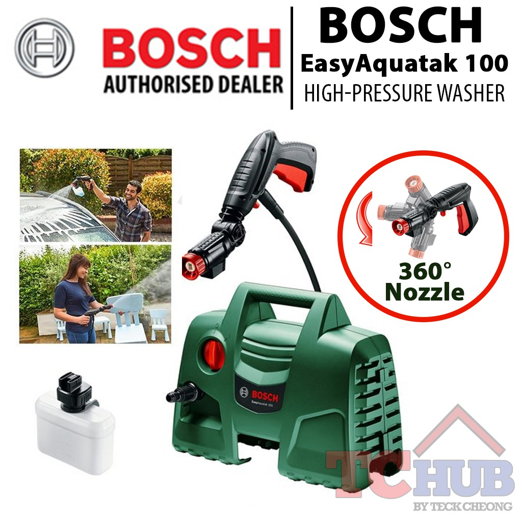 [Bosch] EasyAquatak 100 High Pressure Washer