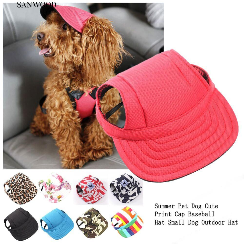 a0d1935abed Pet Dog Baseball Cap Hats Large Dogs Sports Outdoor Hat
