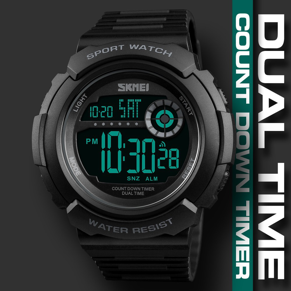 Watches Skmei Compass Sports Watches Relogio Masculino Clock Countdown Wristwatches Compass Pedometer Calorie Mileatge Digital Watch Aesthetic Appearance