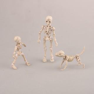 Pose Q Version Figuarts 3 Body Joints Skeleton PVC Mobile Skull Action Figure