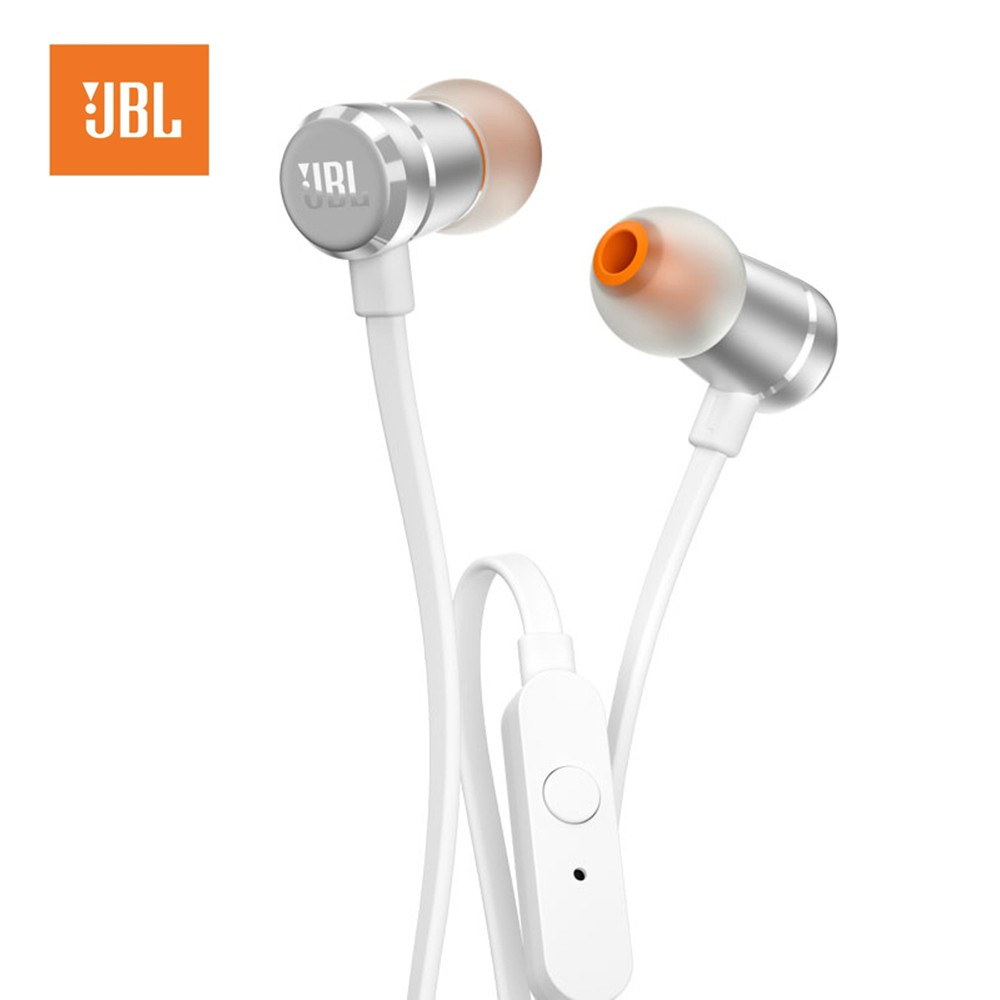 Jbl T120a In Ear Bass Wired Headphone 35 Mm Metal Plug With Headset Wireless Stereo S990 New Design Microphone Shopee Singapore