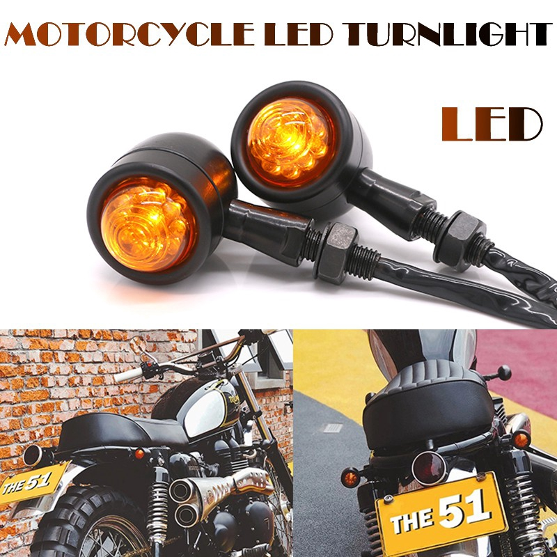 2pcs Turn Signal Bulb Indicators Motorcycle//Bike//Motorbike Halogen Lamp Light