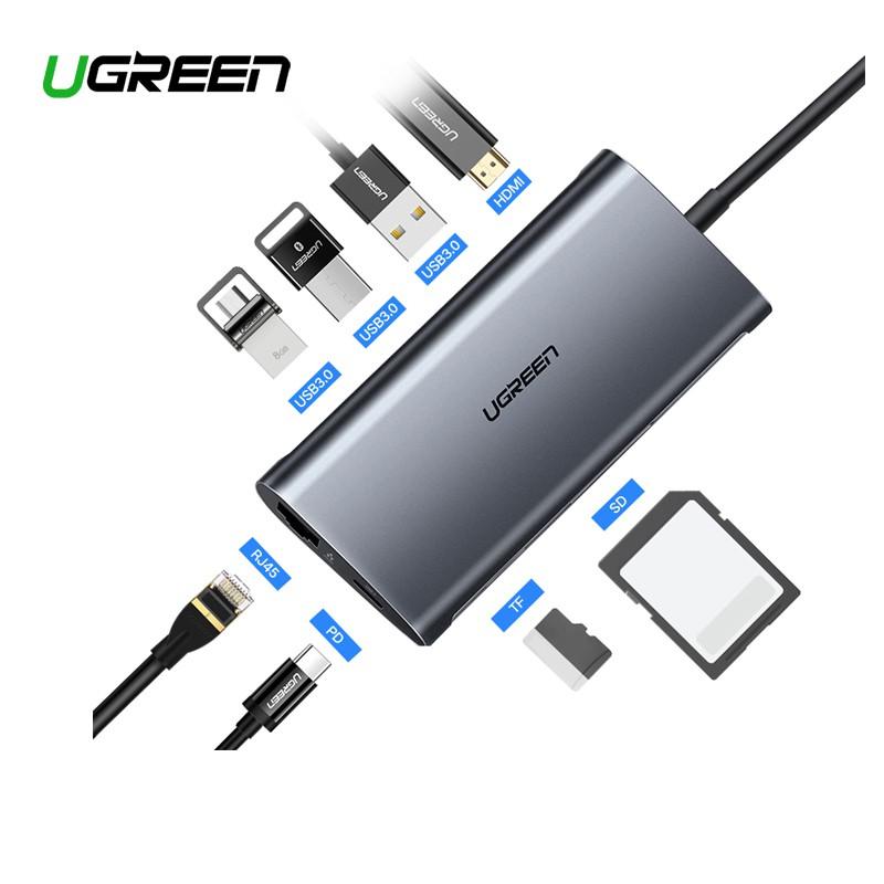 Vention USB-C HUB Type-C to HDMI//USB 3.0 RJ45//PD//VGA Adapter Cable Converter Lot