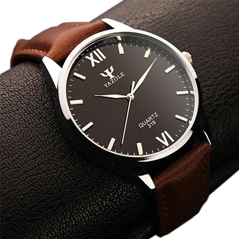 6a5f500ddd1 Rose Gold Wrist Watch Men Famous Male Clock Quartz Watch Golden Wristwatch  Quartz-watch Relogio Masculino