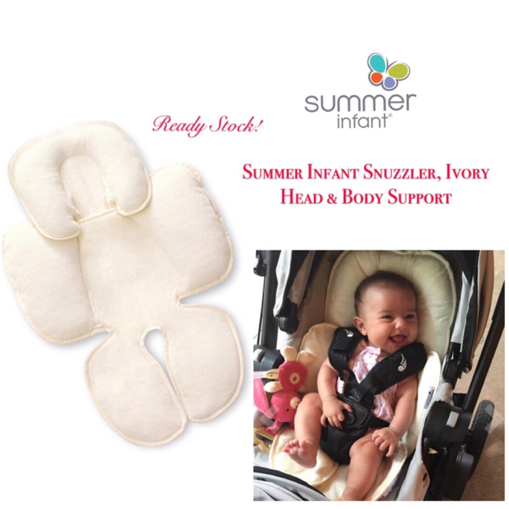 A SUMMER INFANT SNUZZLER IN CREAM