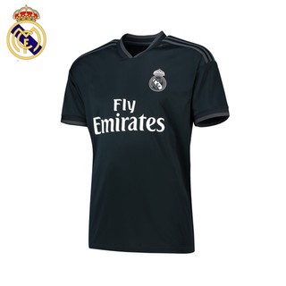 fb7bbf21a COD Top Quality 2018 19 Real Madrid Away Black Soccer Shirt Football Jersey