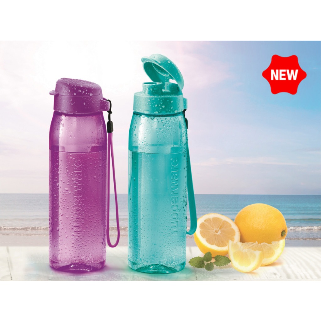 NEW COLOR Tupperware 500 ml Eco Water Bottle | Shopee Singapore