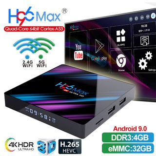 X88MAX+ Smart TV Box Android 9 0 RK3328 4GB 64GB Free 7 Days