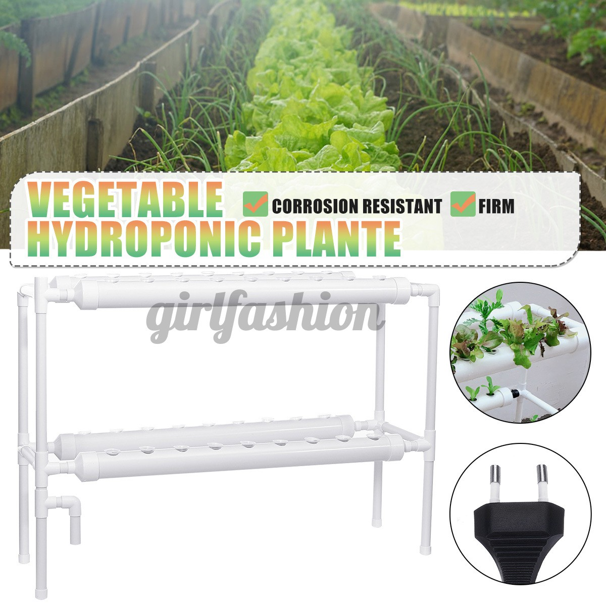 36 Site 4 Pipe Hydroponic Plant Grow Vegetable Water Tool Kit Garden System  | Shopee Singapore