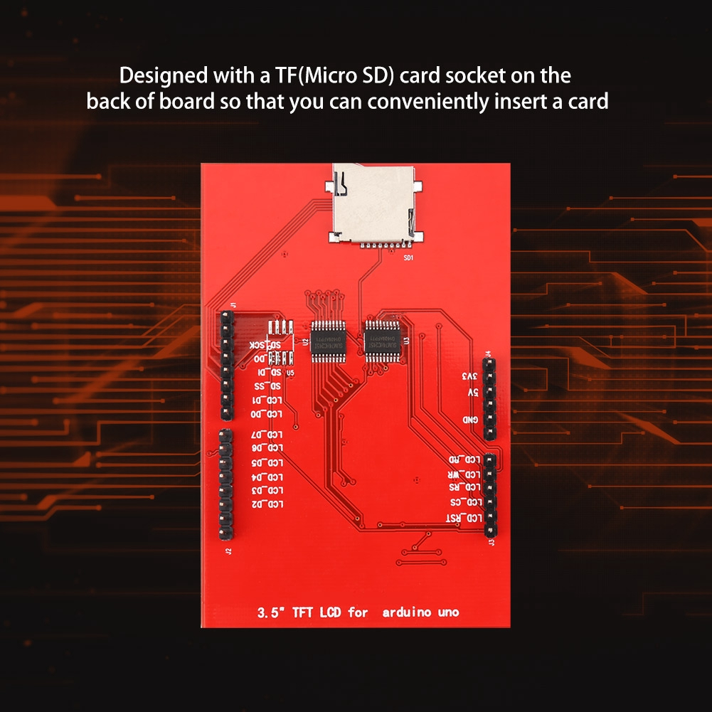 24 Tft Lcd Shield Socket Touch Panel Module For Arduino Shopee Wiring Diagram Singapore
