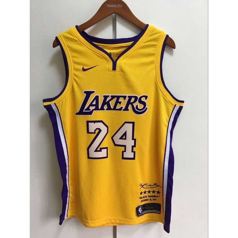 eda9a9247 Nice Nike Lakers  24 Kobe Bryant Black NBA Swingman City Edition Jersey  Outlet