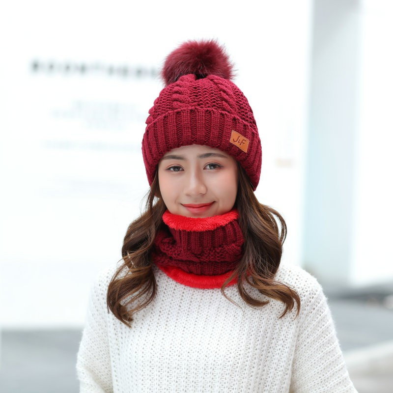 85000afc695 ProductImage. ProductImage. Hat winter Korean men s and women s knit ...