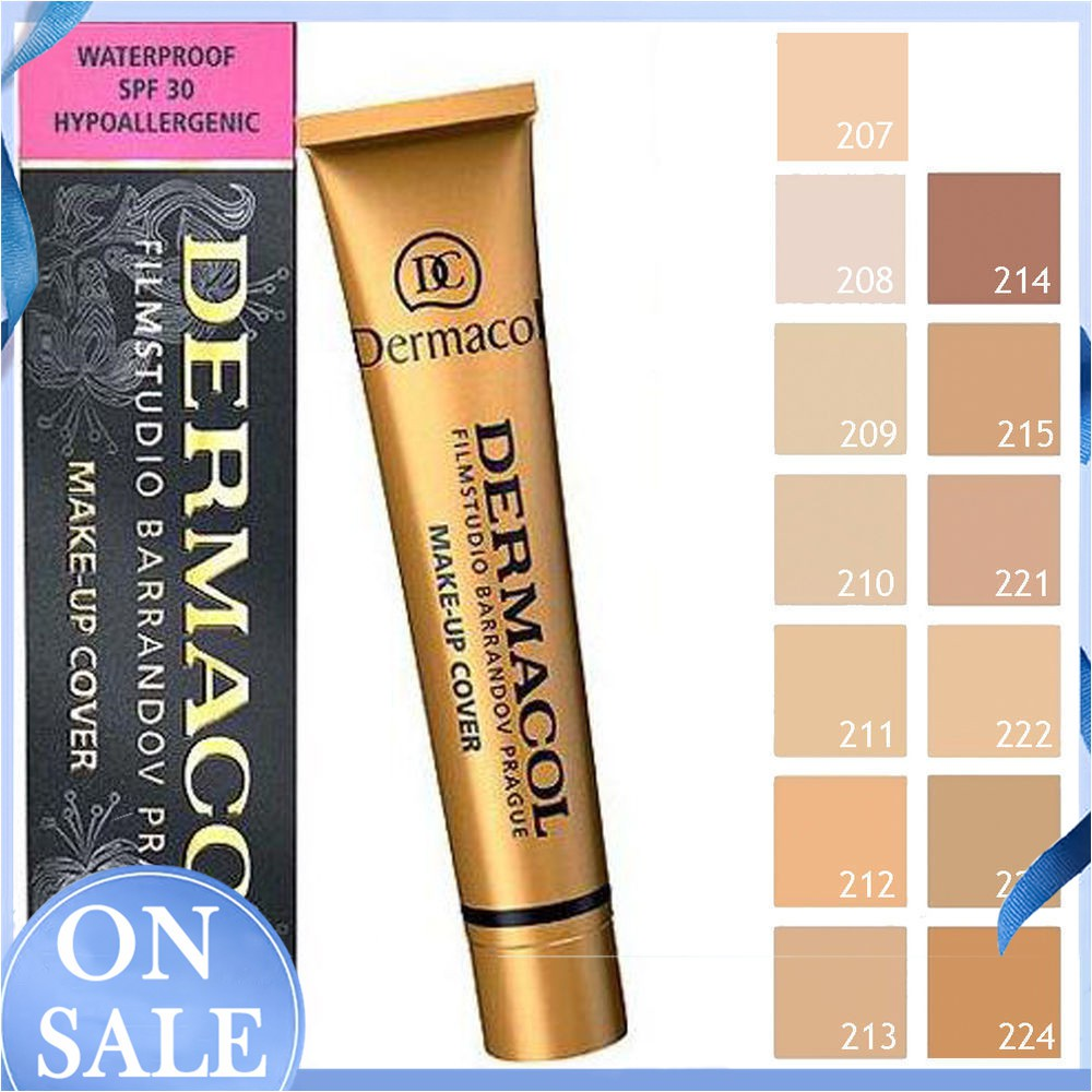 【Ready Stock】14 Colors High Covering Concealer Makeup Cream