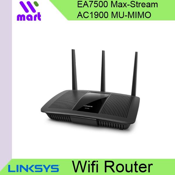 (Local) Linksys EA7500 Max-Stream™ AC1900 MU-MIMO Gigabit WiFi Router