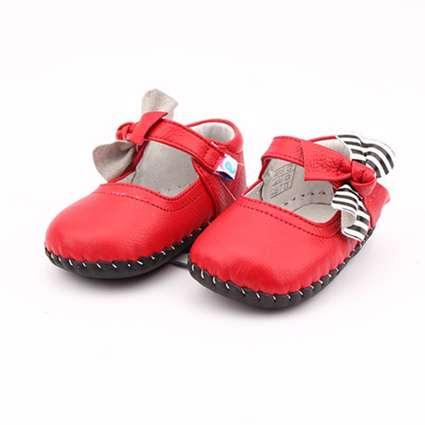 Freycoo - Red Julia Infant Shoes