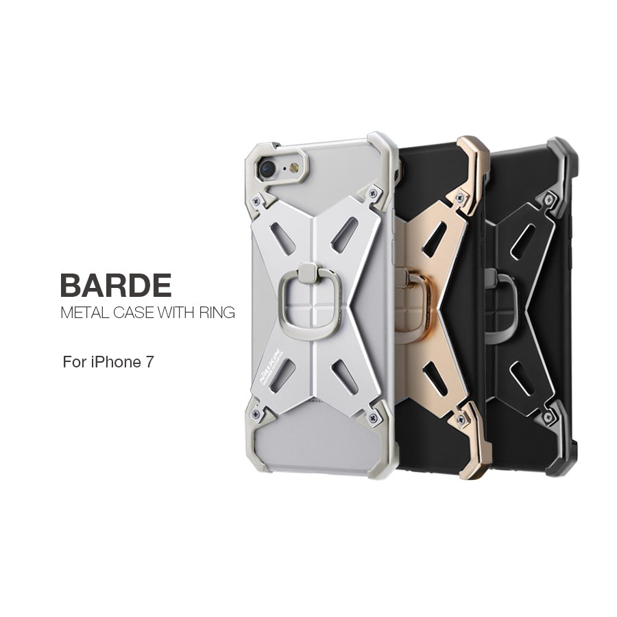 Apple Iphone 7 Barde Metal Case With Ring Shopee Singapore Nillkin Oger Plus