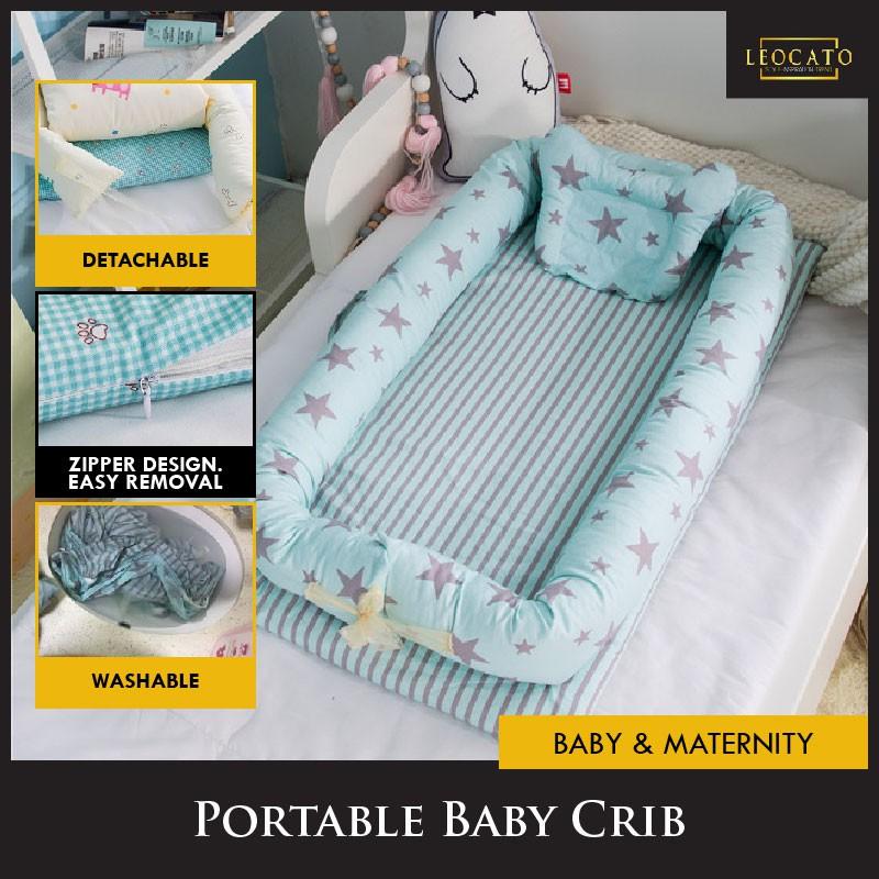 Baby Crib Travel Infant Multifunction Bed Portable Newborn Cot Sleep Nest Pod UK