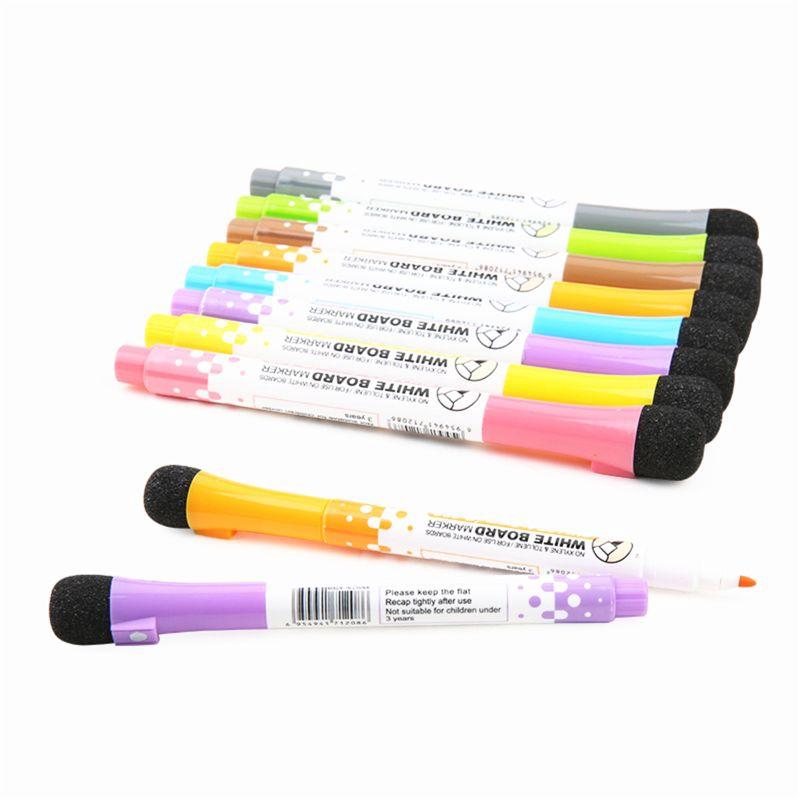 Pilot Whiteboard Marker Pens Dry Wipe Green Xylene Free Low Odour Easy Erasing