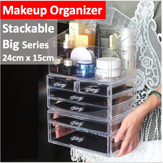 Acrylic Makeup Organiser And
