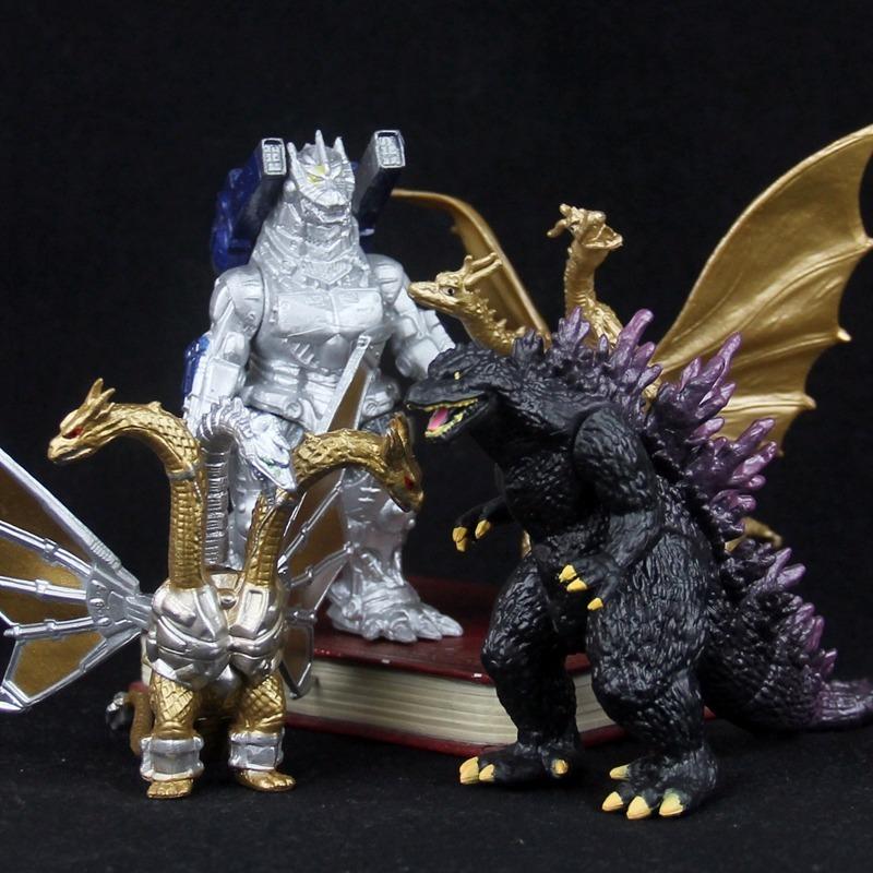 Godzilla King of the Monster Shin Mechagodzilla 10pcs Toy Figures Set Party Cake Toppers Gift