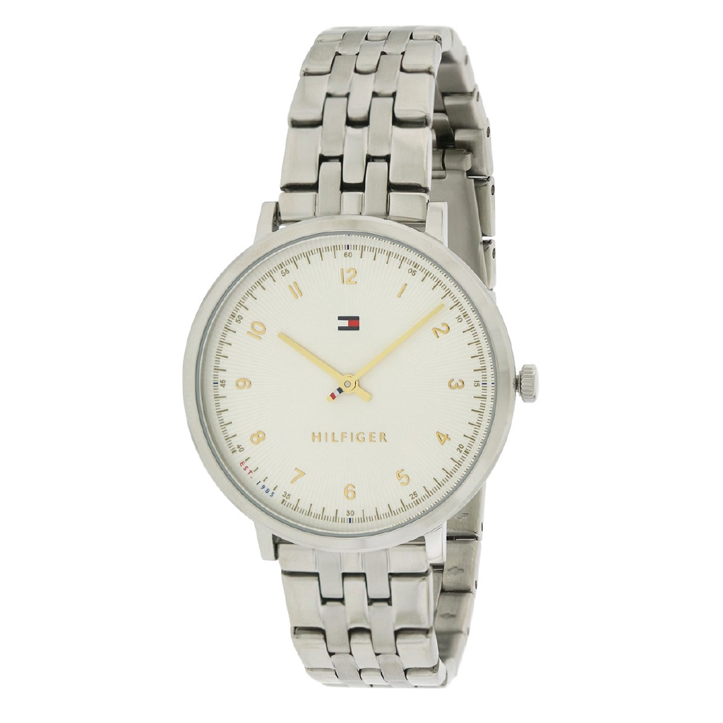 18341736 Tommy Hilfiger Pippa Pink Stainless-Steel Case Leather Strap Ladies 1781919  | Shopee Singapore