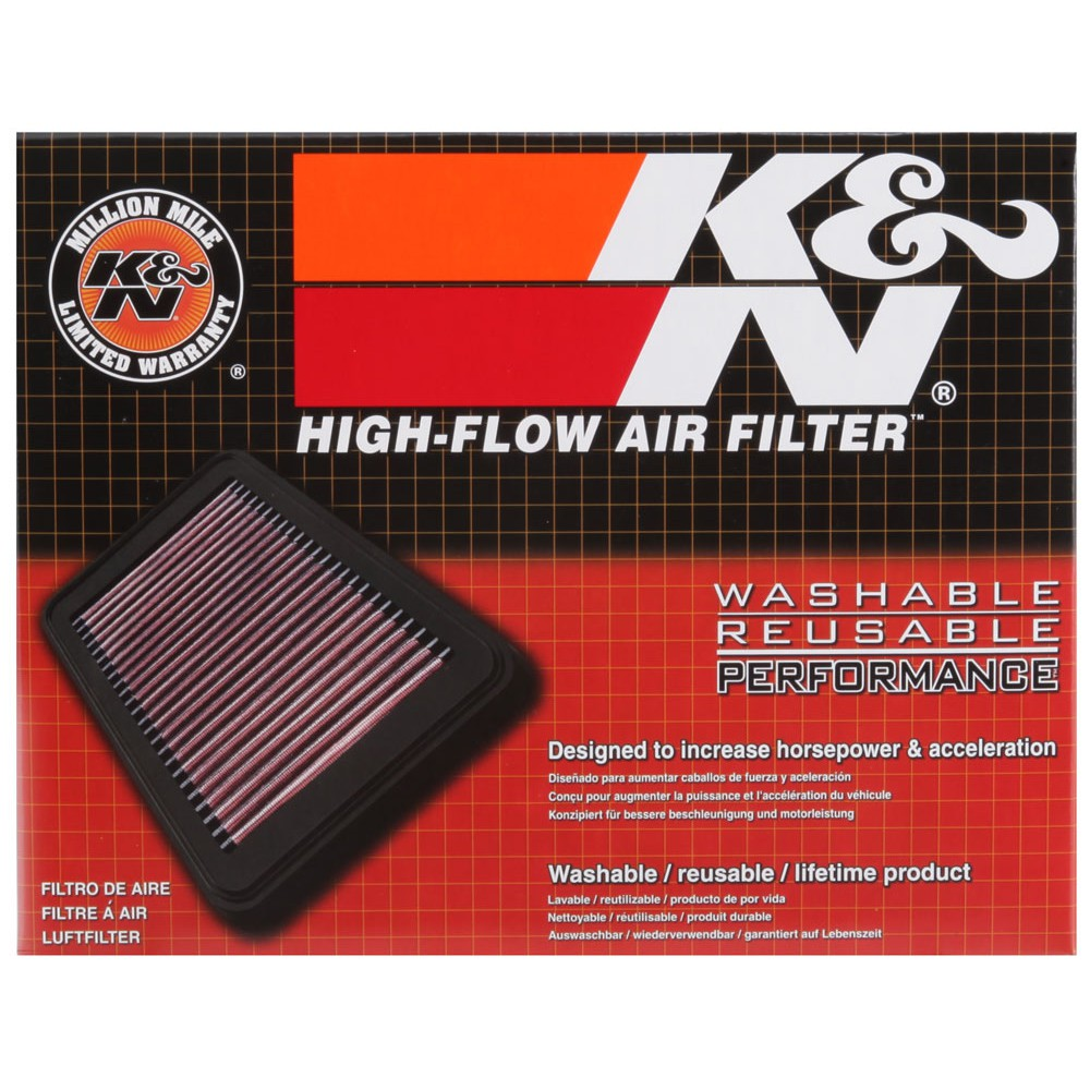 K /& N Ya-1208/ High Flow Filtre /à air pour Yamaha YZF R125/ 125/ 2008 2012
