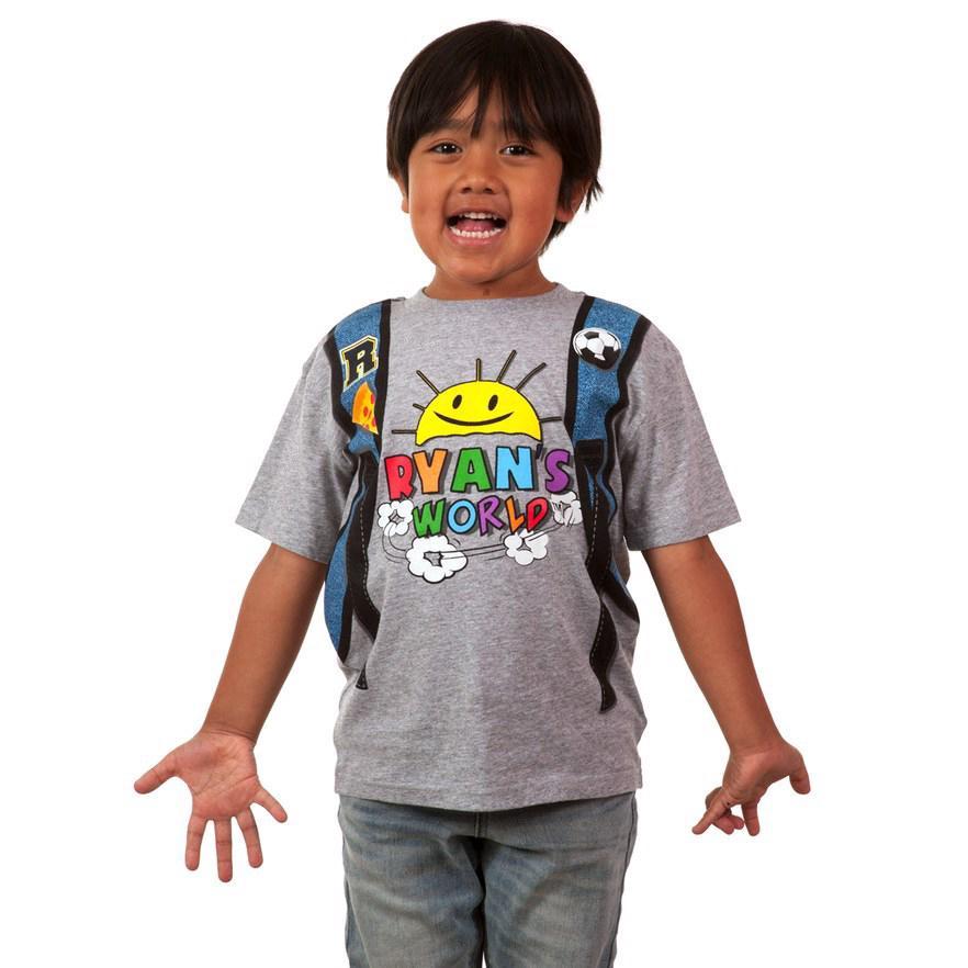 Ryan Toys Review Hoodie Sweatshirt Gift Girls Boys Kids Cotton T-shirt Tee Tops
