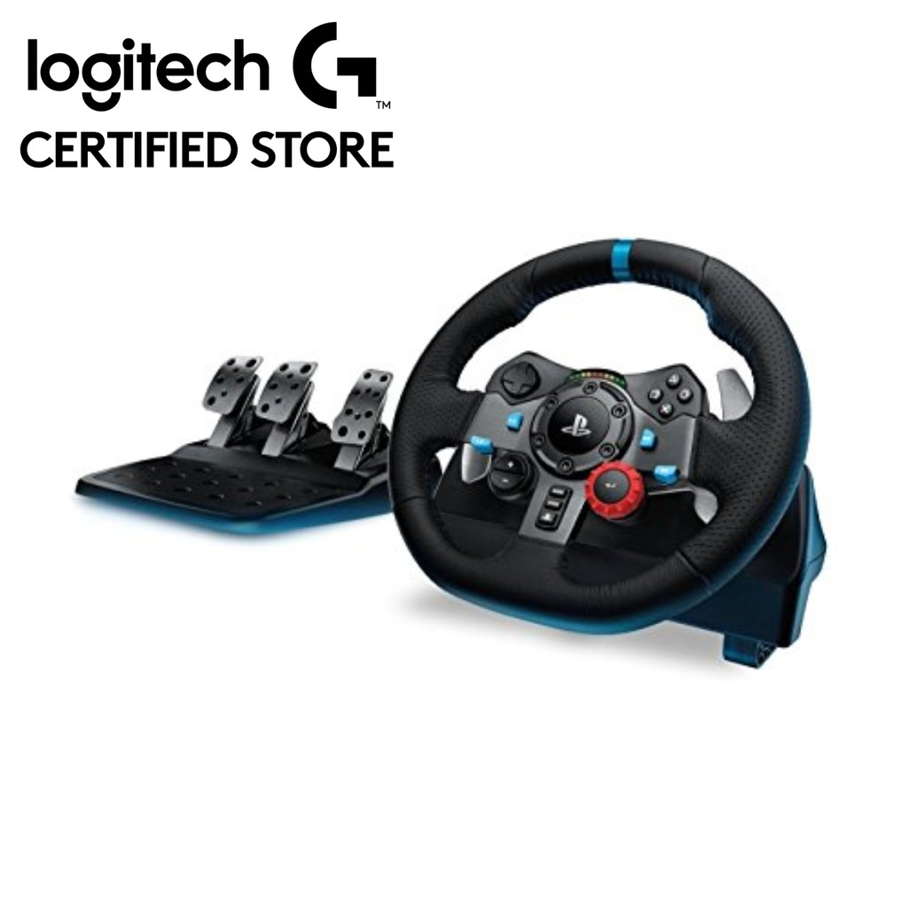 Logitech G29 Dual-Motor Feedback Driving Force Racing Wheel For PS3 & PS4