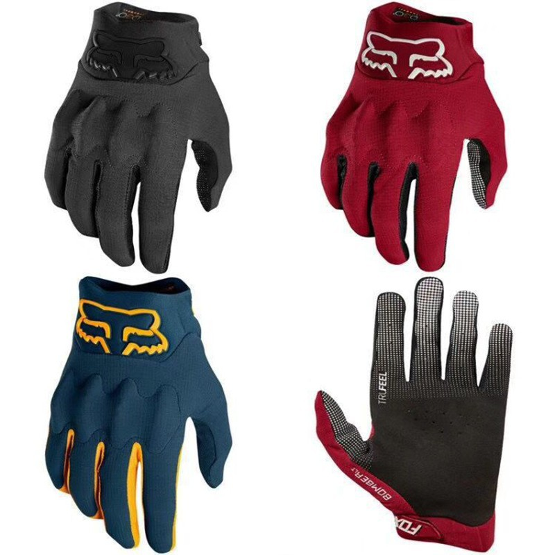 Sports Racing Cycling Bike Bicycle Gel Full Finger Gloves Size M L XL
