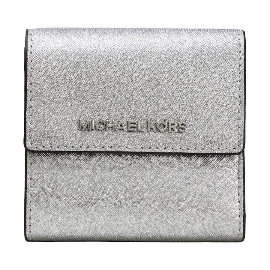 973e3f08afe755 Michael Kors Pebble Leather Adele Slim Bifold Wallet Navy | Shopee Singapore