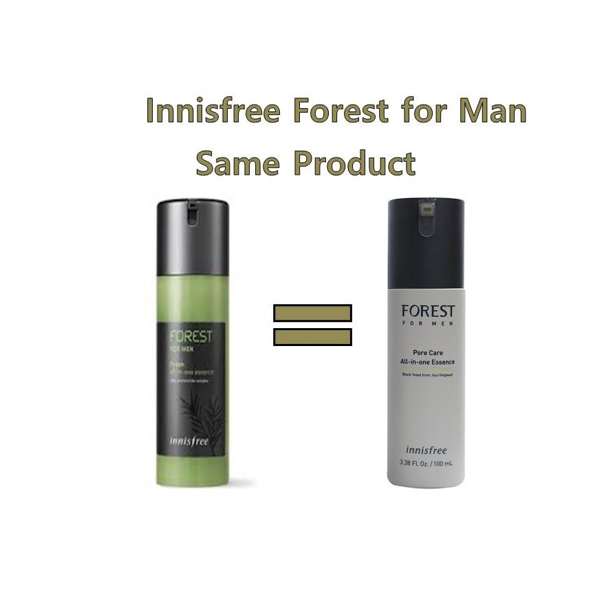 [Innisfree] Forest for Men Fresh All-in-One Essence 100ml, ,Shipping from  Korea