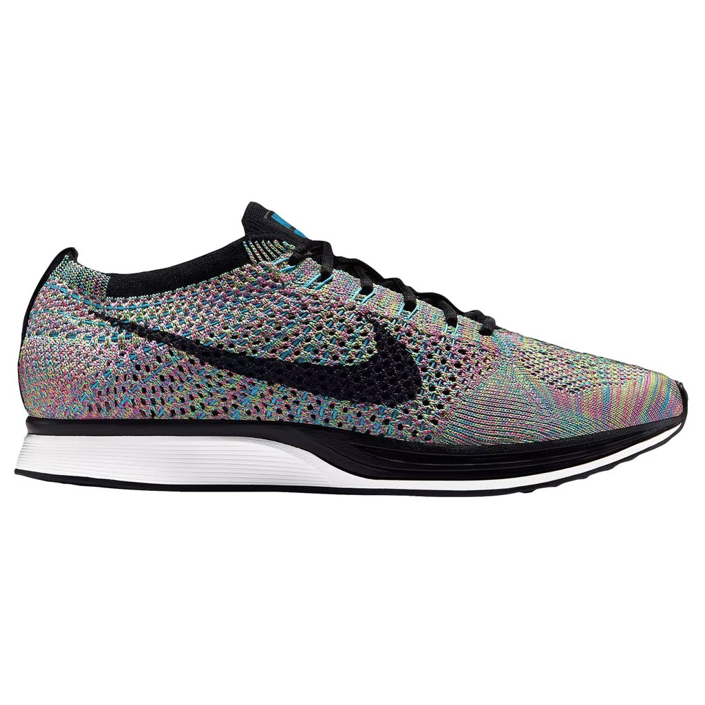 free shipping] ready stock MULTICOLOR original Nike FLYKNIT RACER MULTICOLOR stock 18f35d