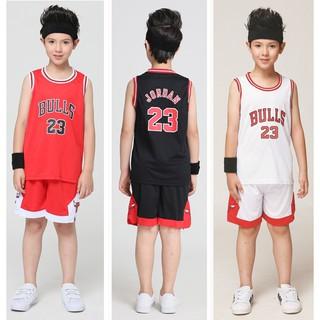 reputable site 8cfa3 b4465 NBA Chicago Bulls No.23 Jordan Kids Basketball Jersey Suit ...
