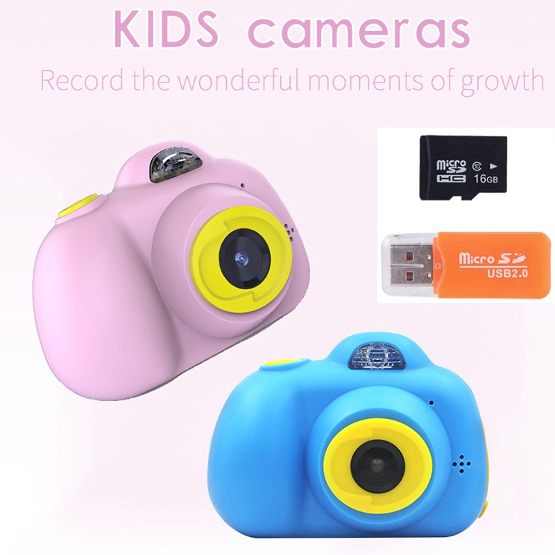 STOCK!!Children Kids Digital Camera 2 0 Inch 1080P LCD Mini Camera For  Camcorder