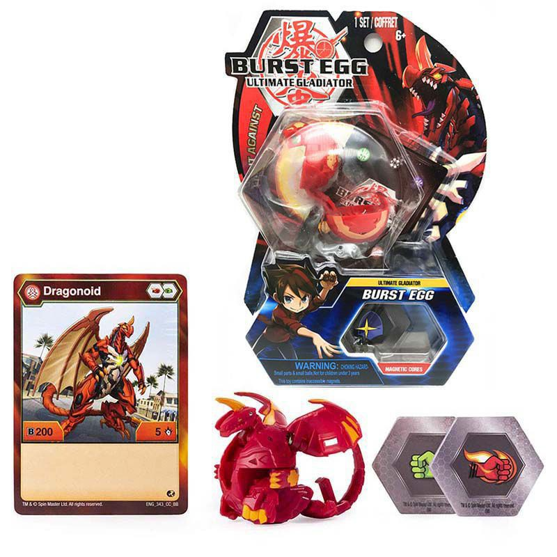 Bakugan Set toys Vestroia Gundalian Invaders Neo Dragonoid Burst Eggs Magnetic
