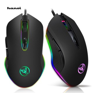 6 Buttons USB Wired Backlit LED Light TN Professional Gaming Mouse