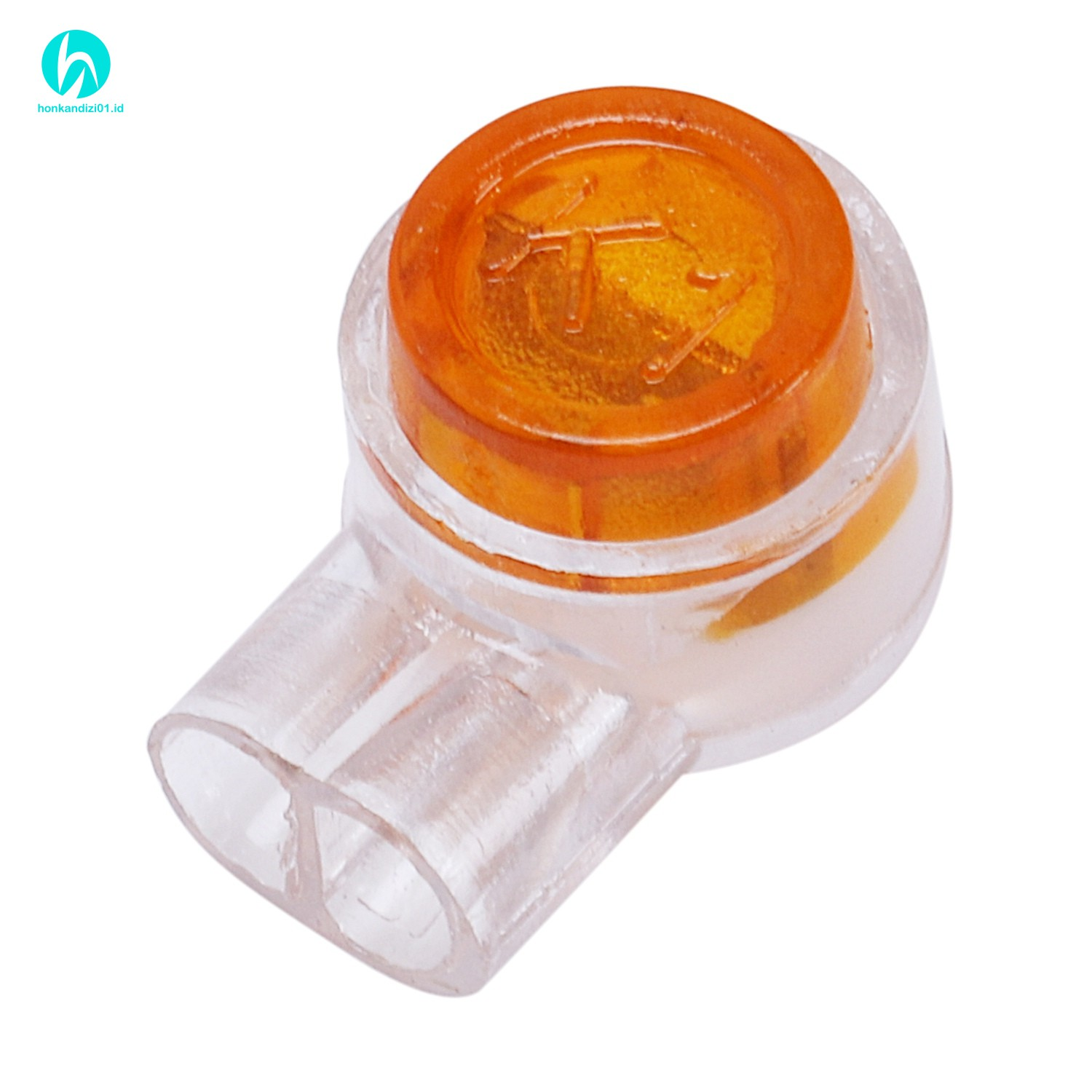 In Stock 50 Pieces Yellow Button Gel Filled Phone Wire Butt Splice Uy Connect
