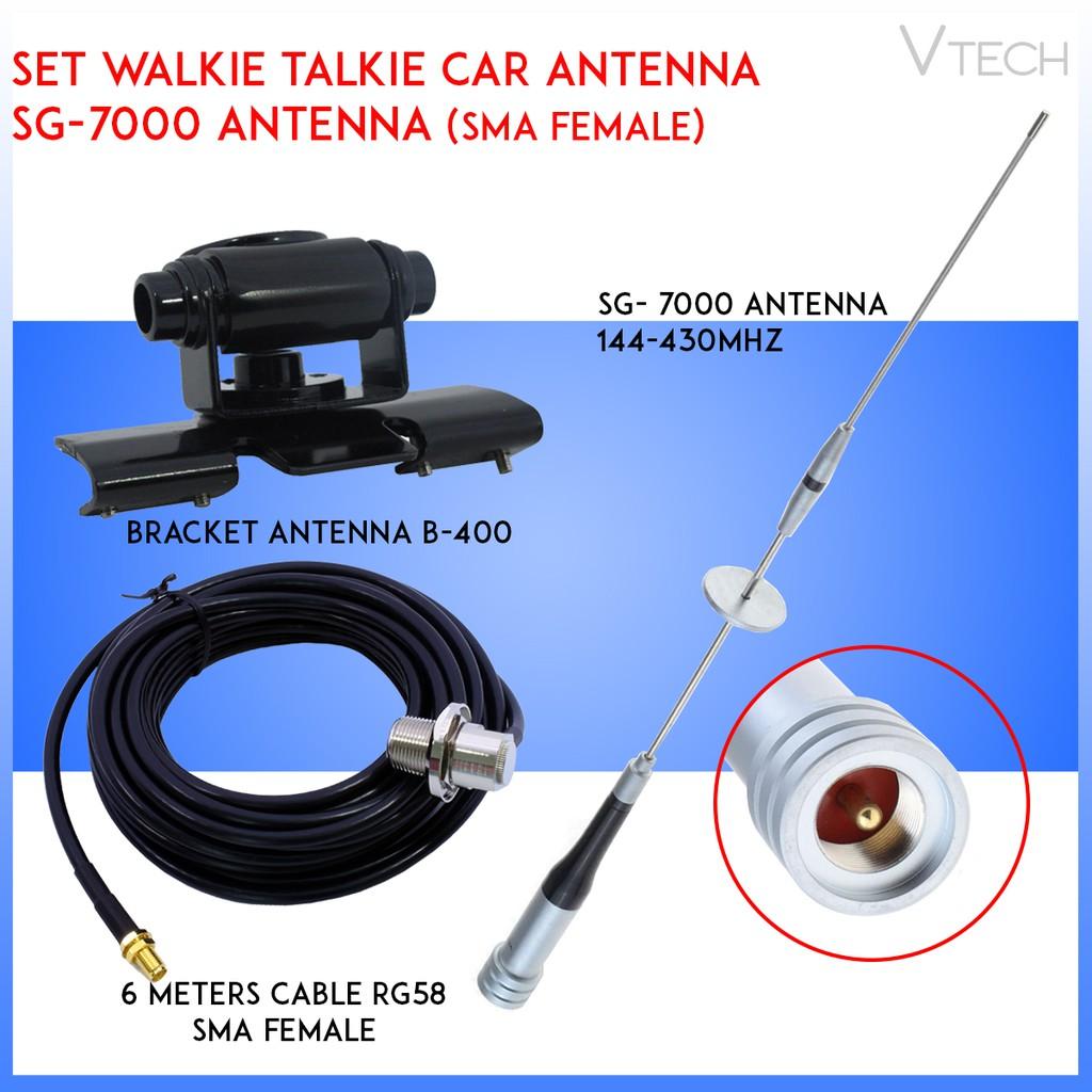 nr-770s Dual Band VHF//UHF 100/W Auto Mobile Ham Radio Antenna per Tyt 17.5/in LiChiLan nr-770santenna