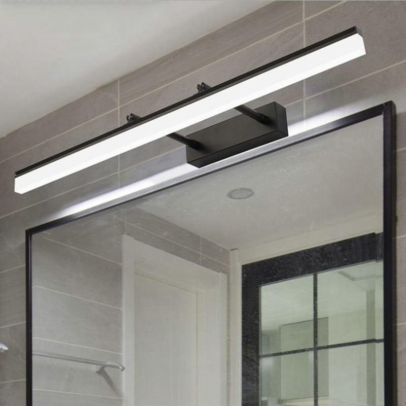 Led Chrome Bathroom Vanity Lights Image Of Bathroom And Closet