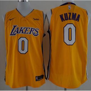 buy popular 3889a 8ed69 2018 Original Nike NBA Los Angeles Lakers Kyle Kuzma #0 ...