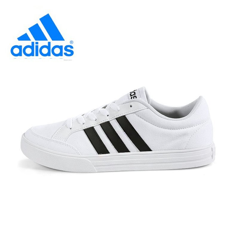 c554f756bac35 Adidas Unisex Neo Running shoes AW3889 White   Black Sneakers ...