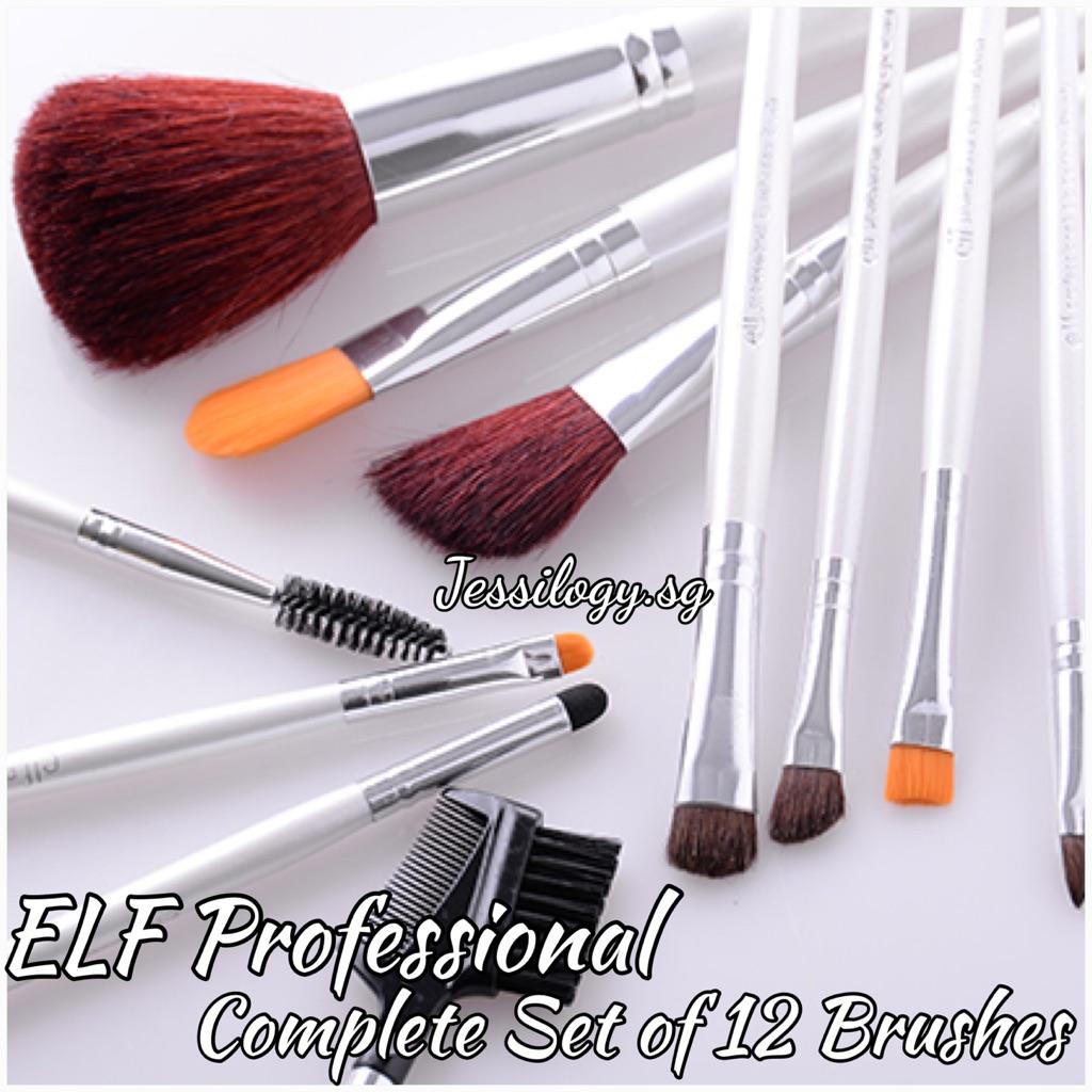 E L F Cosmetics Essential Brushes