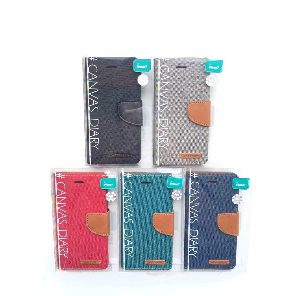 Goospery Fancy Diary Flip Case With 2 Card Slots And Can Stand Samsung Galaxy Core Canvas Gray Shopee Singapore