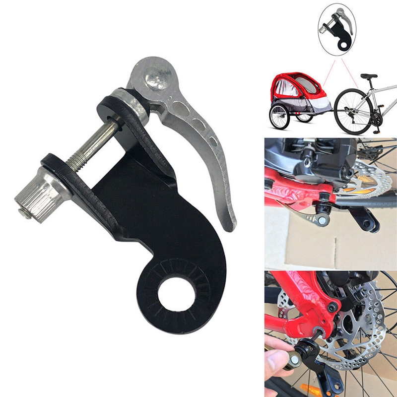 Bicycle Bike Trailer Coupler 12Mm Steel Hitch 1PC For Burley Connector Replace